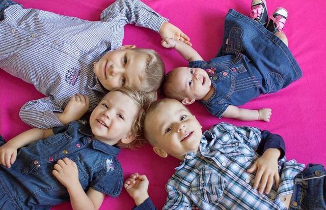 Алименты на 4 детей порядок, размер, сколько процентов