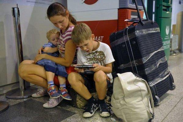 Заявление на сопровождение ребенка (детей) по России от родителей