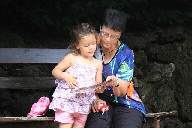 Какие права у бабушки на внука?